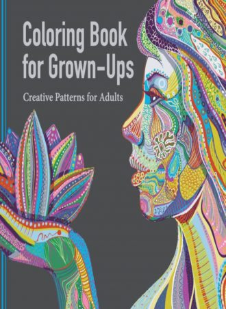 Adult Coloring Book - Creative Patterns